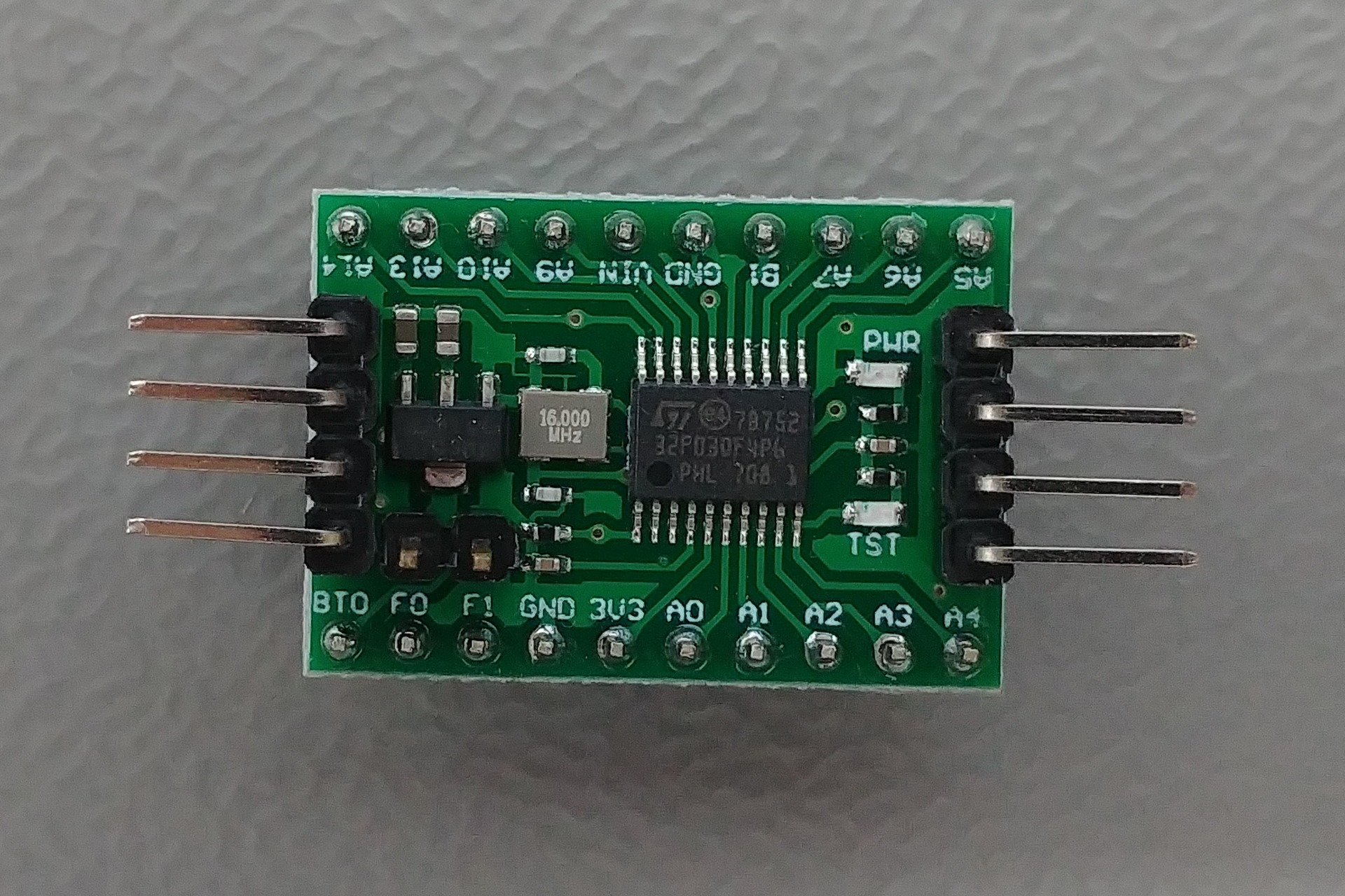 Baite STM32F030F4P6 Top view