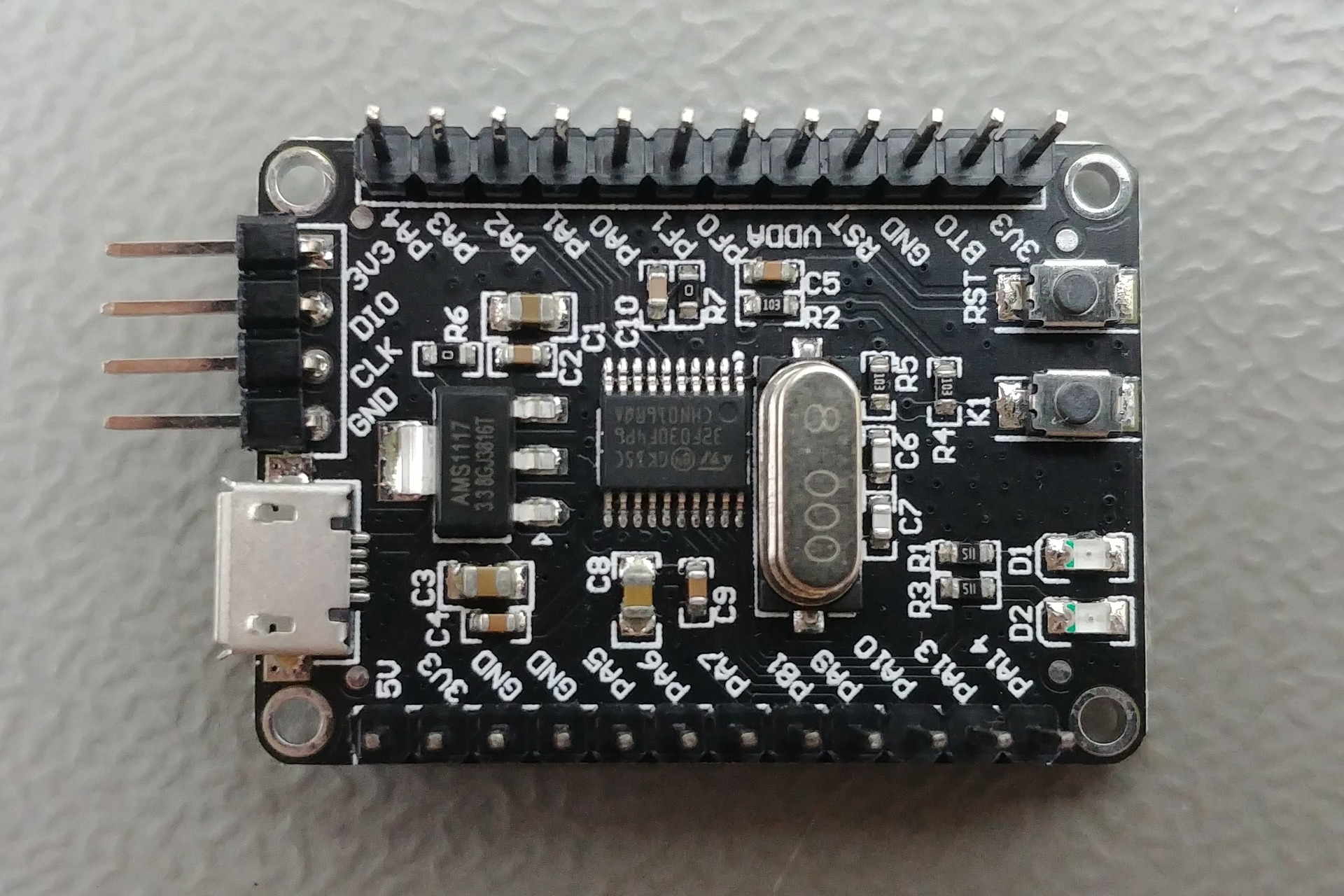 STM32_F030: Top view