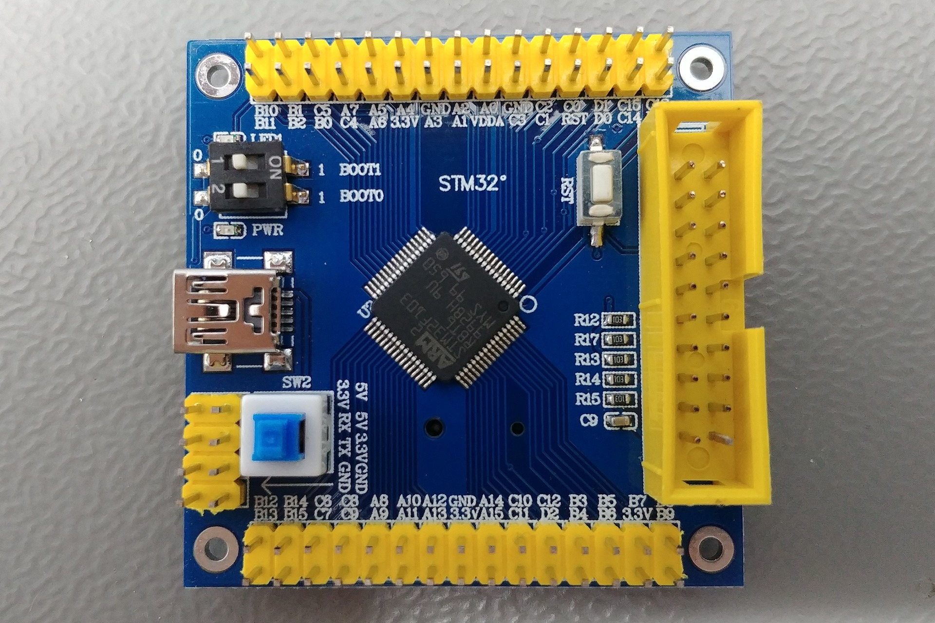 Generic Board Top view
