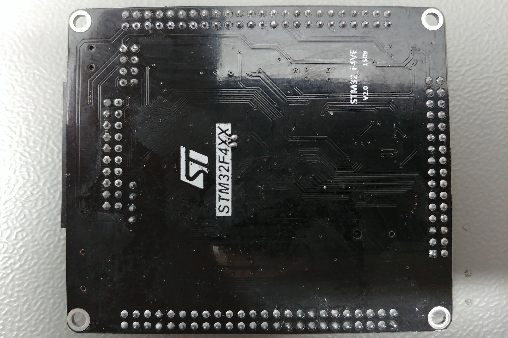 STM32 F4VE V2.0 Bottom view